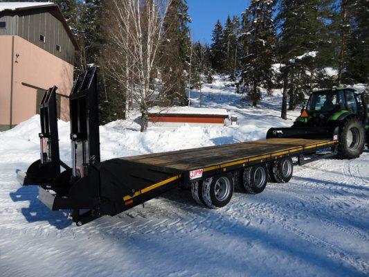 JPM traktorilavetti, 3-akselinen (27 tn)