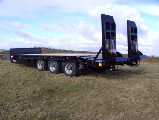 JPM traktorilavetti, 3-akselinen (33 tn)