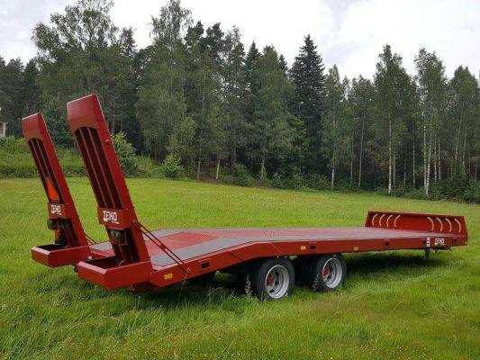 TEKO Robus 2-akselinen traktorilavetti